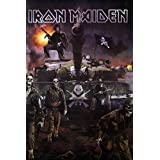 """IRON MAIDEN English Heavy Metal Band Music Image Print Poster Size 24"""" x 35"""" S-0453"""