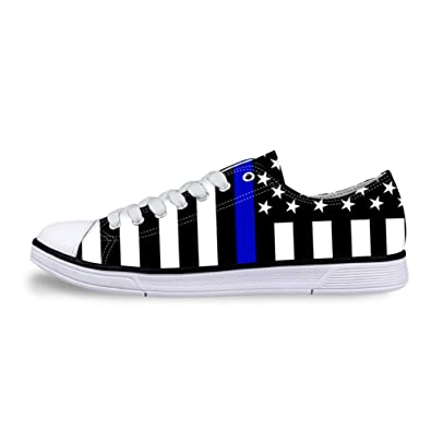 3e26aee172417 Amazon.com | Canvas Low Top Sneaker Casual Skate Shoe Mens Womens ...