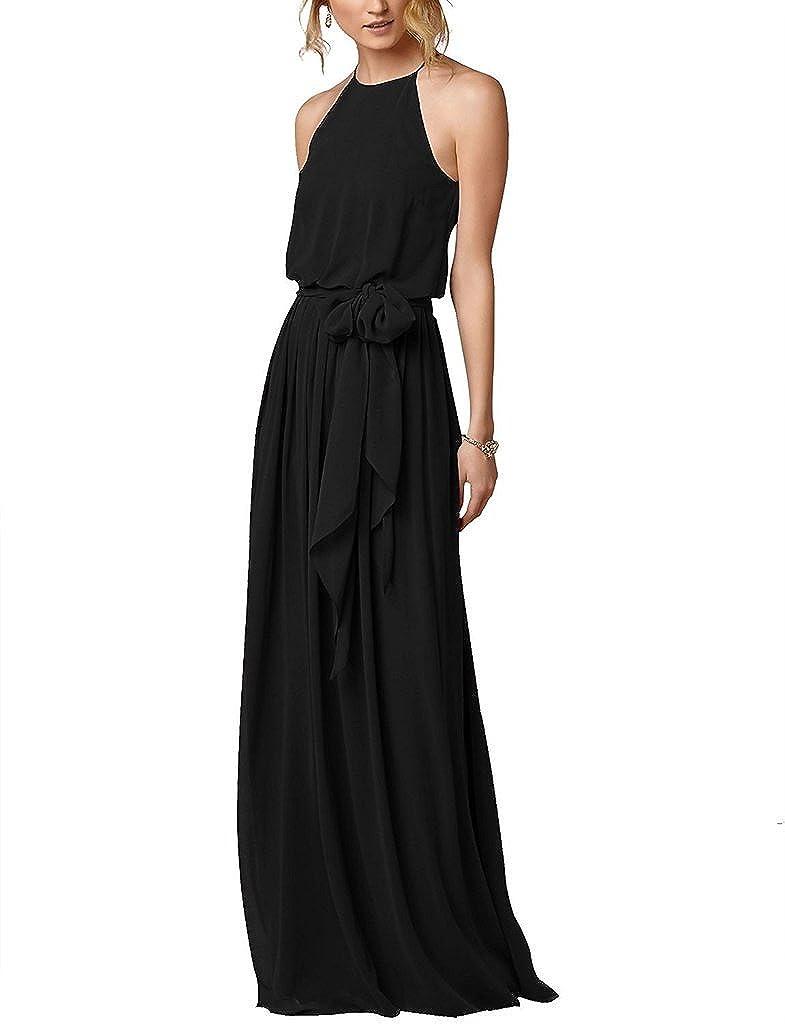 Amazon.com: Amore novia Flowy sencilla playa Boho vestido ...