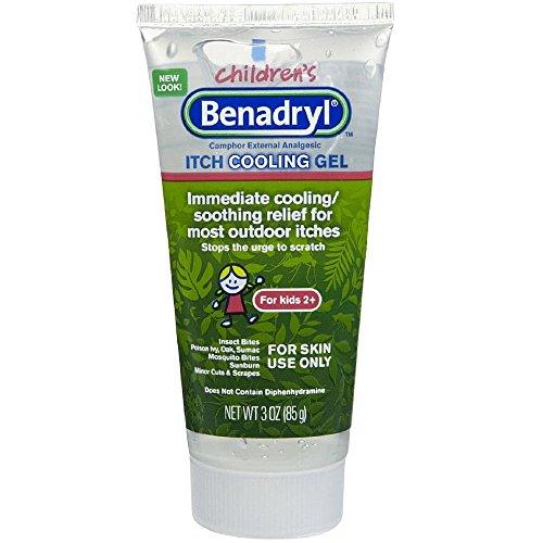 Benadryl Children's Itch Cooling Gel 3 oz (Pack of 3) by Benadryl