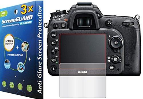 3x-nikon-dslr-d7100-d7200-premium-anti-glare-matte-finish-lcd-screen-protector-guard-kit-exact-fit-n