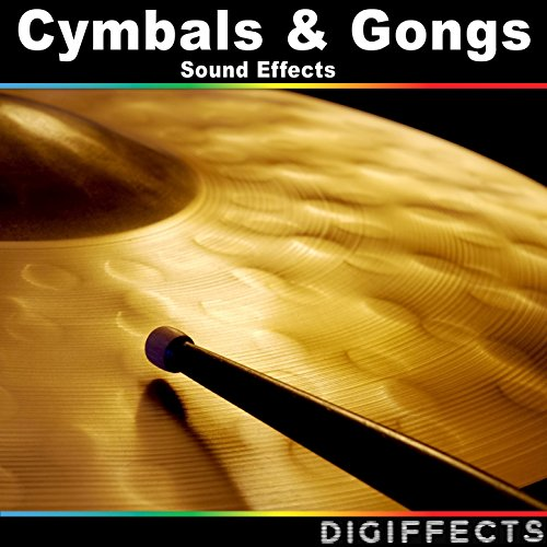 cymbals gongs sound effects by digiffects sound effects library on amazon music