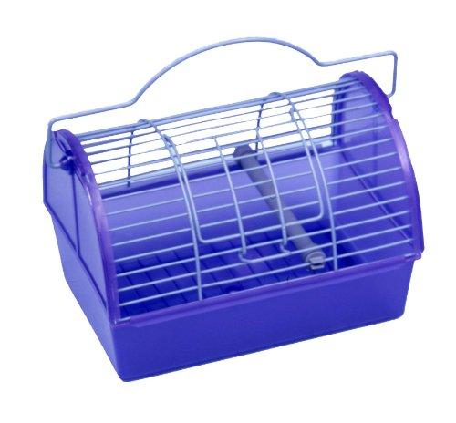 [해외]소형 동물 용 펜 플랙스 캐리어 & amp; /Penn-Plax Carrier for Small Animals & Birds - Small- Colors may vary