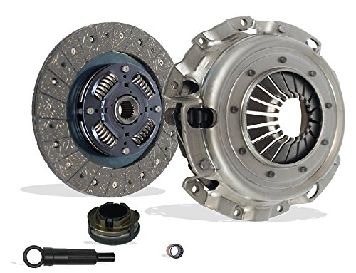 Clutch Kit Works With Mazda 3 5 Gs-Sky Gt Gx i S Grand Touring Mini Sport 2004-2013 2.0L L4 2.3L L4 2.5L L4 GAS DOHC Naturally Aspirated ()