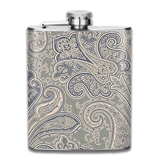 - Personalized Flask,Beautiful-Flowers 7oz Pocket Flask Stainless Steel Wine,Whiskey Pot Shot Flask 7oz for Men Women Gift