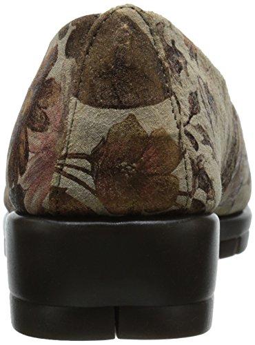 Aerosoles de faro de las mujeres Mocasines. Bronze Floral