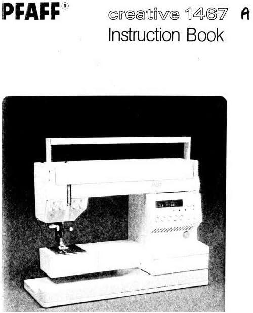 Descargar Pdf-File Pfaff Creative 1467 máquina de coser: Amazon.es ...