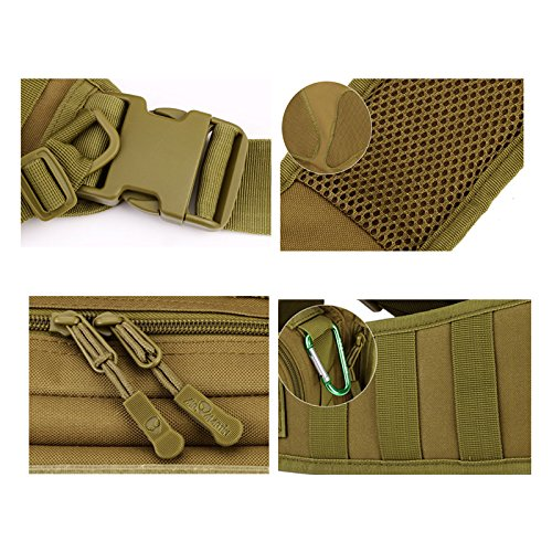 Tactical Military Sling Chest Pack Bag Molle Daypack