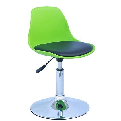 Decorative Stool Bar Chair, Plastic Bar Chair Liftable Nail Shop Chairs Bar  Chairs Computer Chair