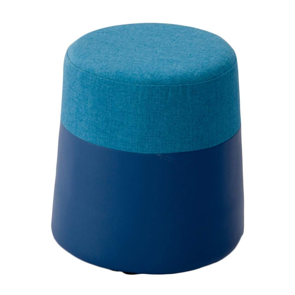 K 38x38x40cm Footstool Cloth Doorway Change shoes Bench Simple Mini Household Dressing Stool, 11 colors GFMING (color   C, Size   38x38x40cm)