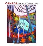 Canada: The Art of Darlene Kulig 2020 Wall Calendar