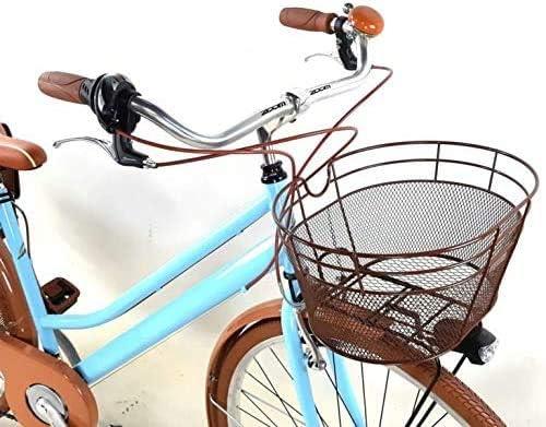 Bicicleta Mujer Vintage 28″ + Bolsas y Cesta Incluso Cambio 6 ...