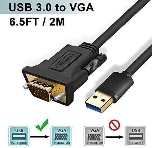 Cable VGA a HDMI de 1,8 m (PC Viejo a Nuevo TV/Monitor con HDMI),