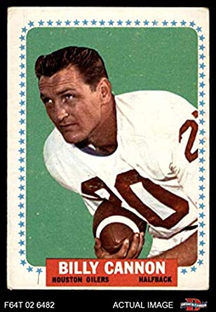 e1f4c9e9c8e 1964 Topps   69 Billy Cannon Houston Oilers (Football Card) Dean s Cards 4 -