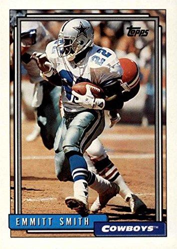 Emmitt Smith Football Card (Dallas Cowboys) 1992 Topps #180