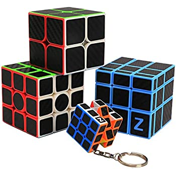 Amazon.com: Z-Cube - Juego de 3 x 3 x 2 llaveros con forma ...
