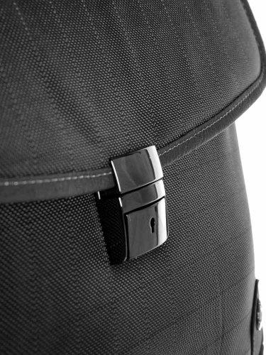 Herren Akten Tasche Umhängetasche Aktentasche Dokumententasche Nylon Business Tasche Schwarz A4