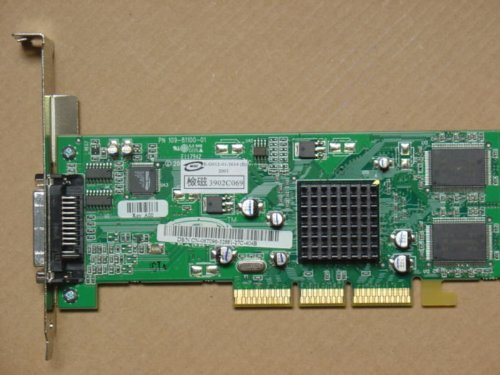 ATI TECHNOLOGIES - 32MB AGP DVI VIDEO CARD - 109-81100-01 (32 Agp Card Mb)