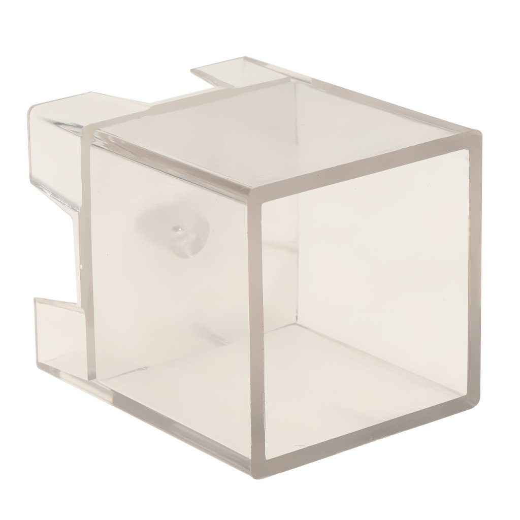 Baoblaze Clear Square Cube Shape Candle Making Mould Soap Mold for Handcraft Home Candle Making DIY Crafts - 45x45x46mm