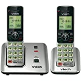 VTECH CS6619-2 DECT 6.0 CORDLESS PHONE WITH 2 HANDSETS (80-8612-00)