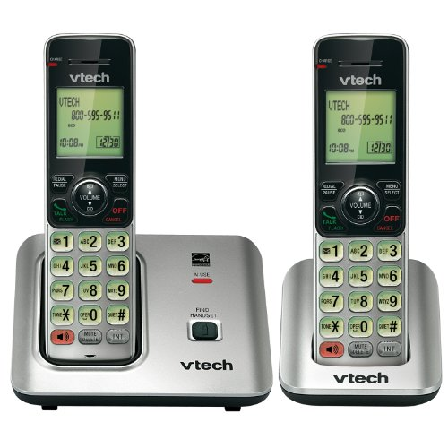 VTECH-CS6619-2-DECT-60-CORDLESS-PHONE-WITH-2-HANDSETS-80-8612-00