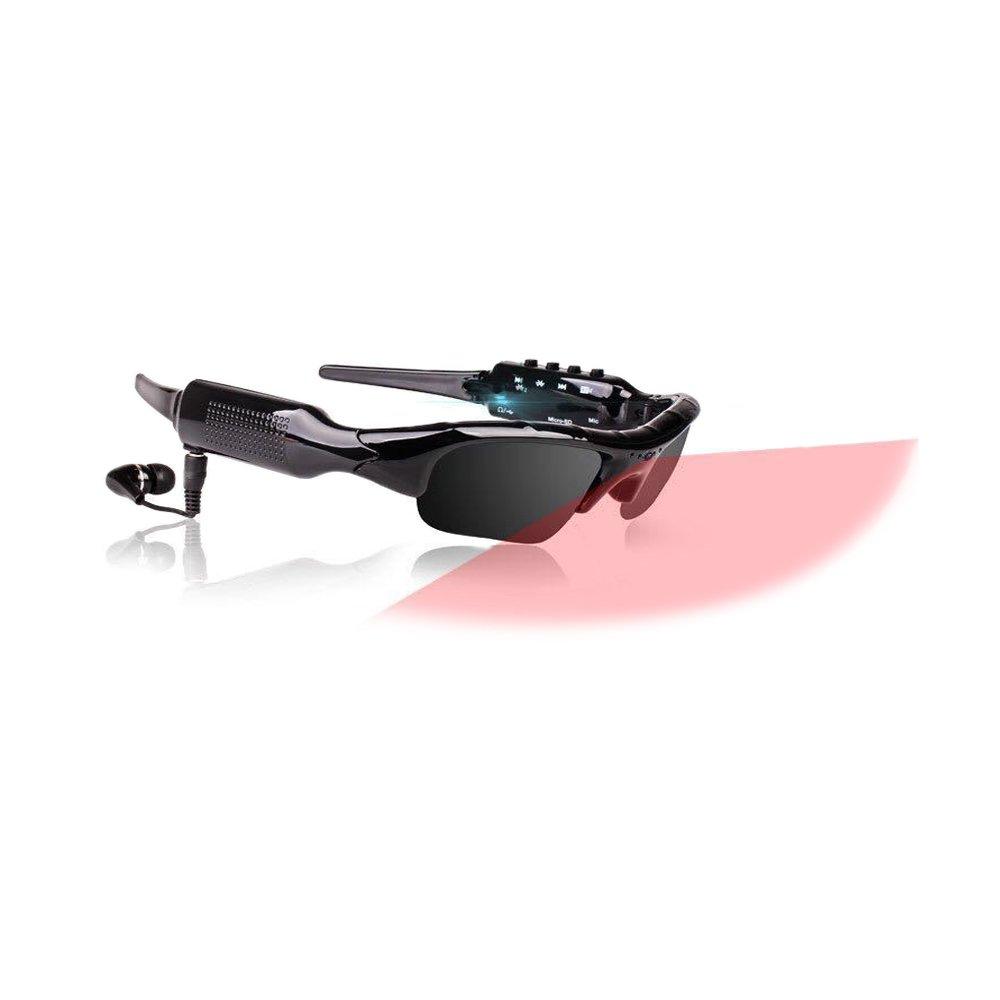 DARONGFENG Bluetooth Sunglasses,Wireless Camera Sunglasses,1080P HD Video recorder