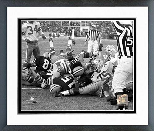 Bart Starr Green Bay Packers 1967 Ice Bowl Touchdown Action Photo (Size: 12.5