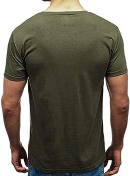MEIbax T Shirt Hombre Slim con Letra de Moda de impresión ...