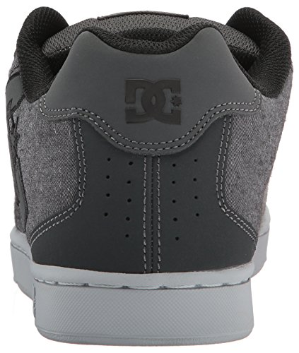 Dc Mens Net Se Skate Shoe Grigio Risciacquo In Resina