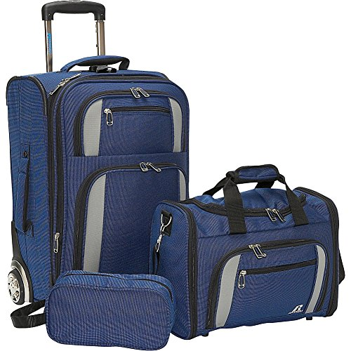 Russell Expandable 3 Piece Luggage Set - 1