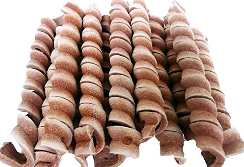 Image of Bonka Bird Toys 1250 3 Leather Twists Bird Toy Parrot Foraging Foot Craft Part Talon Cage Chewy