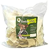 Rawhide Chewing Chips for Dogs - US Natural Beef Rawhide Chews for Dogs Teeth Health, 1 Pound Bag by Pet Magasin