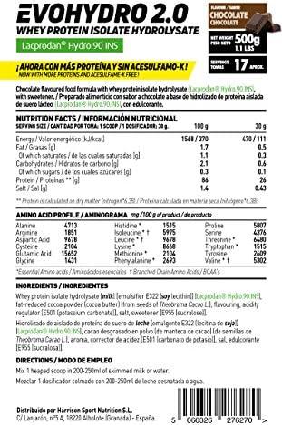 Proteína Hidrolizada de Suero de HSN Evohydro 2.0   Hydro Whey   A partir de Whey Protein Isolate   Rica en BCAAs y Glutamina   Proteína Vegetariana, ...