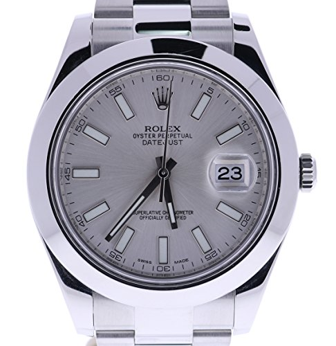 Rolex-Datejust-II-automatic-self-wind-mens-Watch-116300-Certified-Pre-owned