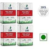 Lass Naturals Red Apple Anti Aging Soap Premium Handmade Bathing Bar - 125 gm / 4.40 oz - Skin Care