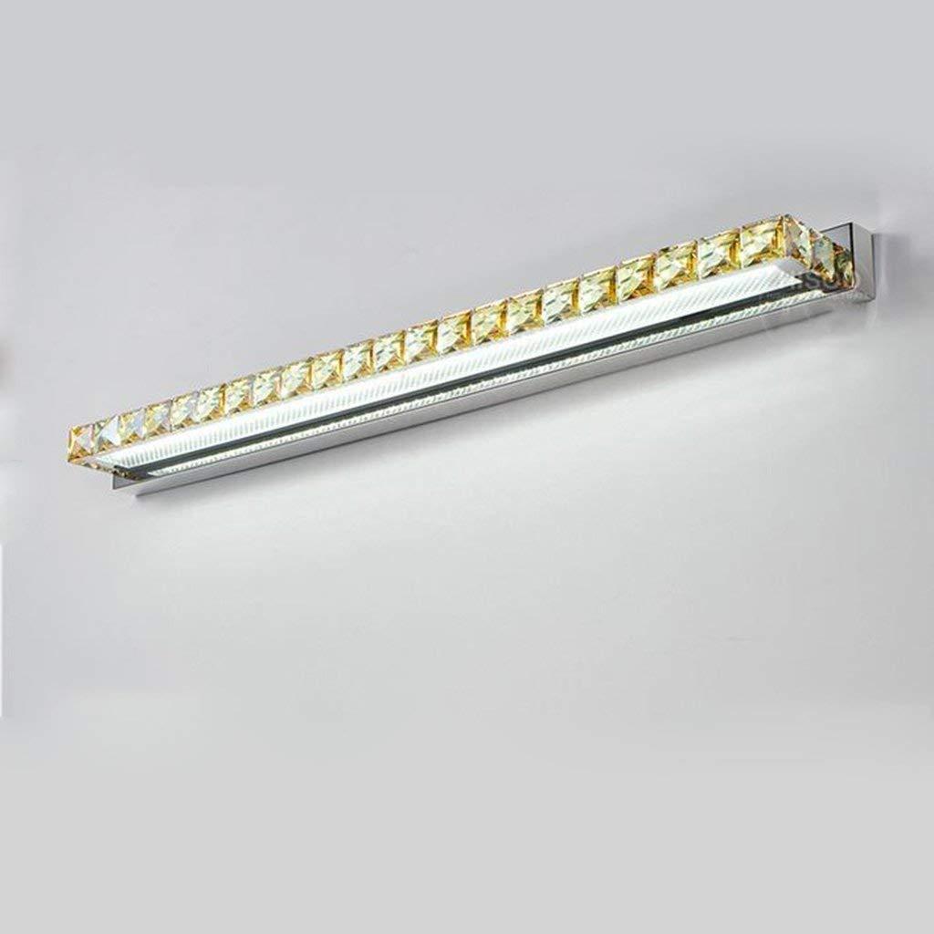 Shangxiangtrade LED照明プロジェクター、ミラー&バスルームライトクリスタルミラーのバスルームトイレはステンレス製の壁ランプライトを密封しました。 (Color : White-10w62cm)  White-10w62cm B07SWS6MJK