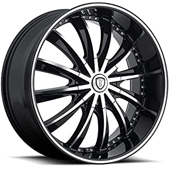 295//35R24 Free Wheel Club LA T-Shirt Set of 4 24 Inch Velocity VW12 Gloss Black Wheels /& Tire Package Fits Chevy Ford GMC Cadillac Dodge Toyota Lincoln Trucks