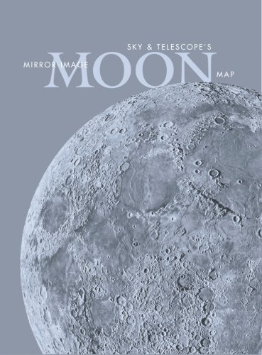 Sky & Telescope\'s Mirror-Image Moon Map Laminated: Sky Publishing ...