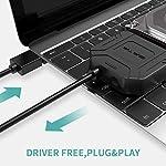 POSUGEAR-Cavo-da-USB-30-a-SATA-IIIIII-per-SSD-HDD-da-2535-Pollici-Supporta-UASP-Adattatore-per-Disco-Rigido-con-Alimentatore-Esterno-12V-2A