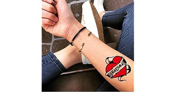 Tatuaje Temporal de abuela (2 Piezas) - www.ohmytat.com: Amazon.es ...