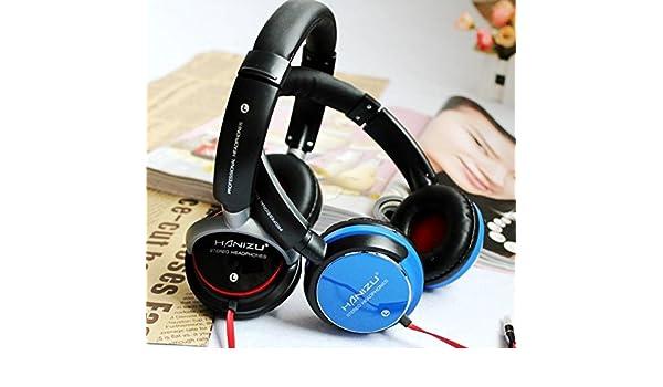 Auriculares Headphone Profesional Gaming HANIZU HZ-750 Stereo HD Super Bass: Amazon.es: Electrónica