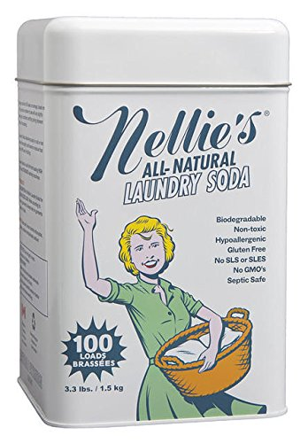 Nellie's All Natural Laundry Soda, 3.3 lbs. (1)