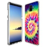 POKABOO Samsung Galaxy S9 Case, Personalized Colorful Skull Anti-Scratch Shock Absorption Slim Fit Clear Case for Samsung Galaxy S9
