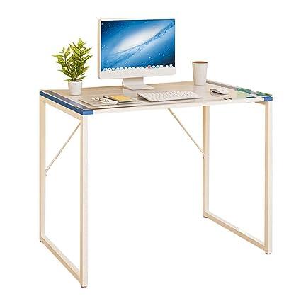 Table 87 Feifei Mesa de Ordenador de Cristal Templado + Marco de ...
