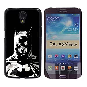 LOVE FOR Samsung Galaxy Mega 6.3 The Bat Superhero Personalized Design Custom DIY Case Cover
