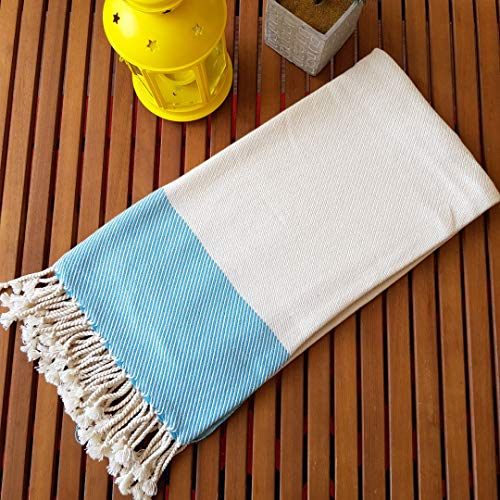 Secret Sea Collection Exclusive Series Thick Peshtemal Towel (Traditional Old Loom) %100 Bamboo 70
