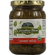 Cascadian Farm Organic Sweet Relish, 10 Ounce -- 12 per case.