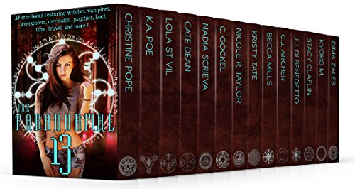 13 full length  paranormal and urban fantasy novels featuring witches, vampires, werewolves, mermaids, psychics, Loki, time travel and more!1.3 MILLION words! 3,500 PAGES!Darkangel by Christine PopeTwin Souls by K.A. PoeThe Girl by Lola St VilMore Th...
