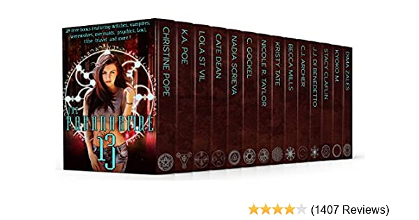 5932e175b The Paranormal 13 (13 free books featuring witches, vampires ...