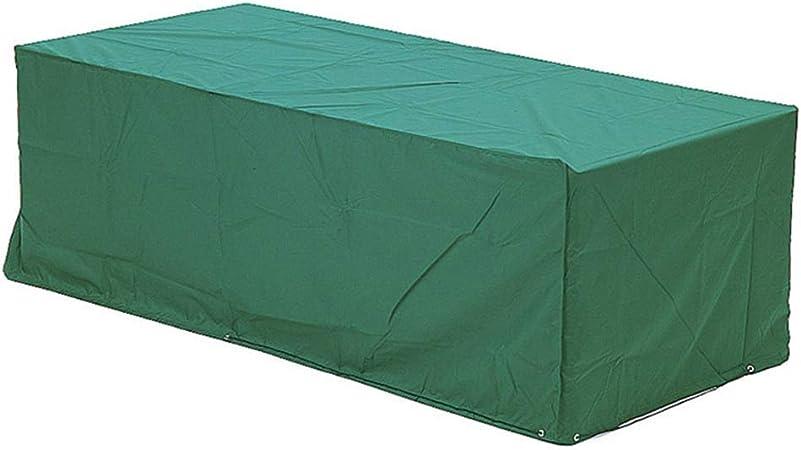 Muebles de jardín Lona cubierta Terraza Impermeable y a prueba de polvo Maquinaria de la fábrica Paño